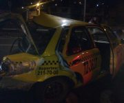 Muere taxista en fatal accidente en Boulevard Bernardo Quintana
